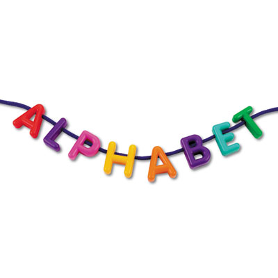 Lacing Uppercase Alphabet - by Learning Resources - LER6401