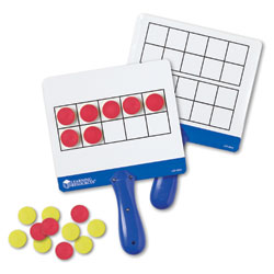 Magnetic Ten Frame Boards - Set of 4 - by Learning Resources