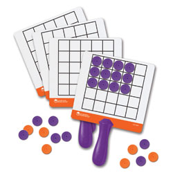 Magnetic Array Answer Boards - Set of 4 - by Learning Resources