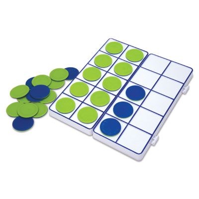 Connecting Ten-Frame Trays - by Learning Resources - LER6650