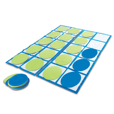 Ten-Frame Floor Mat Activity Set - by Learning Resources - LER6651