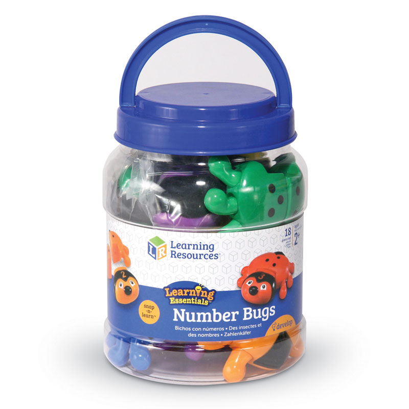 Snap-n-Learn Number Bugs - by Learning Resources - LER6700