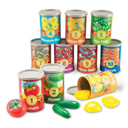 1 to 10 Counting Cans - by Learning Resources