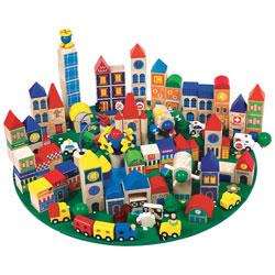City Blocks Set 1 - Set of 160 pieces