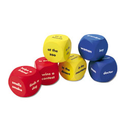 Story Starter Word Cubes - Set of 6 - by Learning Resources
