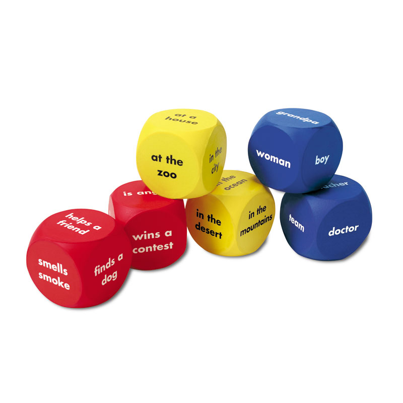 Story Starter Word Cubes - Set of 6 - by Learning Resources - LER7020