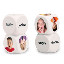 Emotion Cubes - Set of 4 - by Learning Resources