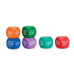 Writing Prompt Cubes - Set of 6 - by Learning Resources