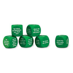 Retell a Story Cubes - Set of 6 - by Learning Resources