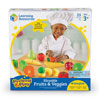 Pretend & Play Sliceable Fruits & Veggies - Set of 23 Pieces - by Learning Resources - LER7287
