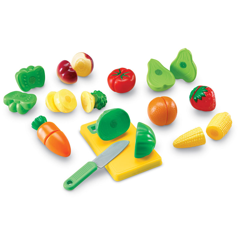Pretend & Play Sliceable Fruits & Veggies - by Learning Resources - LER7287