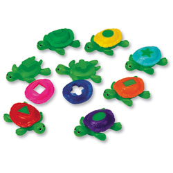 Smart Splash Shape Shell Turtles - by Learning Resources