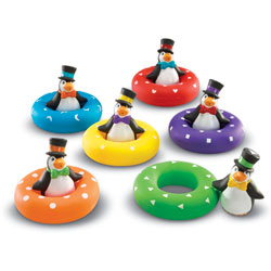 Smart Splash Colour Play Penguins - by Learning Resources