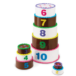 Smart Snacks Stack & Count Layer Cake - by Learning Resources