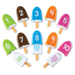 Smart Snacks Number Pops - by Learning Resources