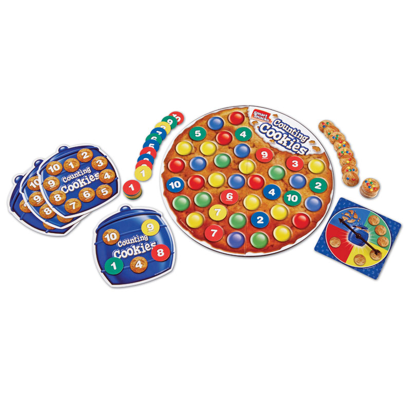 Smart Snacks Counting Cookies Game - by Learning Resources - LER7410