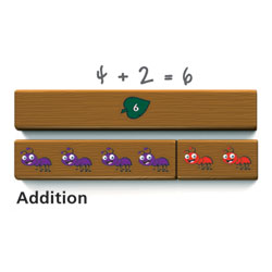 Cuisenaire Jr. Ants on a Log - by Learning Resources