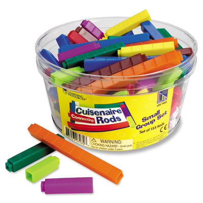 Plastic Cuisenaire Rods - Small Group Tub Set - by Learning Resources - LER7482