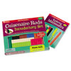 Plastic Cuisenaire Rods Introductory Set - (in a tray) - by Learning Resources