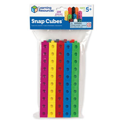 Snap Cubes - Set of 100 - by Learning Resources