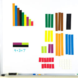 Giant Magnetic Cuisenaire Rods Demonstration Set - by Learning Resources