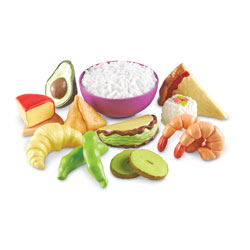 New Sprouts Multicultural Food Set - Set of 15 Pieces - by Learning Resources