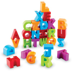 Letter Blocks - by Learning Resources