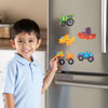 Magnetic Counting Vehicle Puzzles - by Learning Resources - LER7726