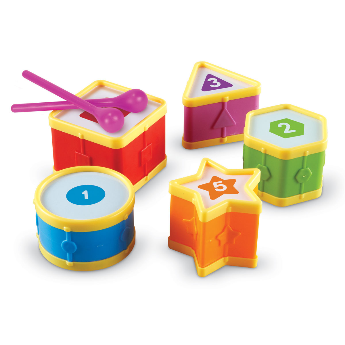 Stem School Drums: By Learning Resources LER7728