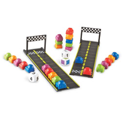 Mini Motor Math Activity Set - by Learning Resources