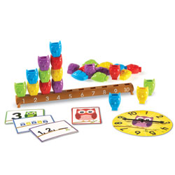 1-10 Counting Owls Activity Set - by Learning Resources