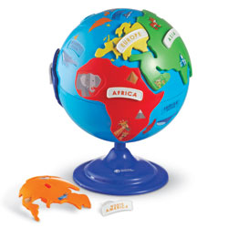Puzzle Globe - by Learning Resources