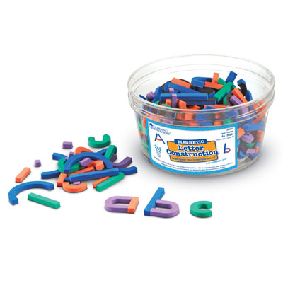 Magnetic Letter and Number Construction - by Learning Resources - LER8551