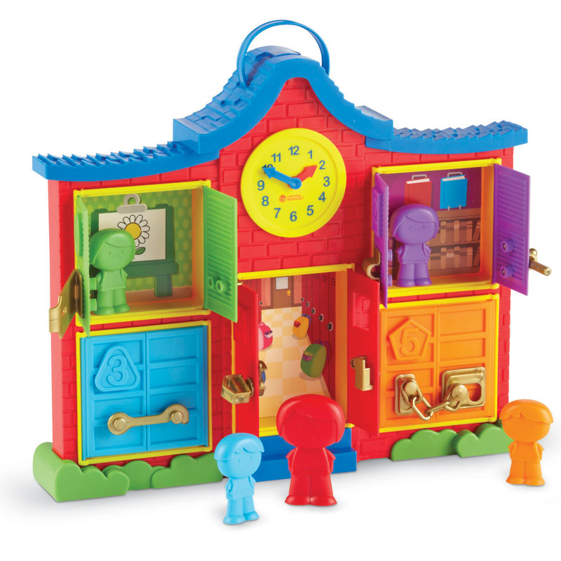 Latch & Learn School House - by Learning Resources - LER7736