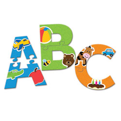 Alphabet Puzzle Cards - by Learning Resources