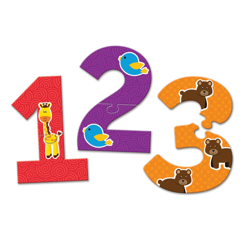 Number Puzzle Cards - by Learning Resources - LER8591