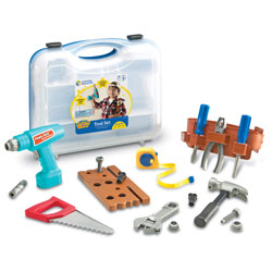 Pretend & Play Work Belt Tool Set - by Learning Resources
