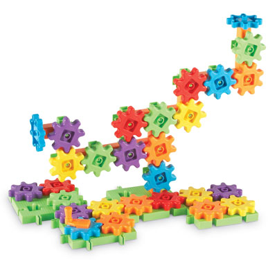 Gears! Gears! Gears! Starter Building Set - 60 Pieces - by Learning Resources - LER9148