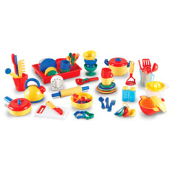 Pretend & Play Great Value Kitchen Set - by Learning Resources