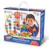 Gears Gears Gears! Deluxe Building Set in Pink - 100 Pieces - by Learning Resources - LER9162-P