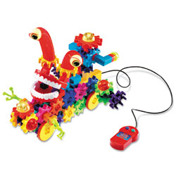 Gears! Gears! Gears! Wacky Wigglers Motorised Building Set - by Learning Resources
