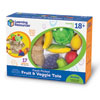 New Sprouts Fresh Picked Fruit & Veggie Tote - by Learning Resources - LER9722