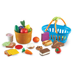 New Sprouts Deluxe Market Set - by Learning Resources
