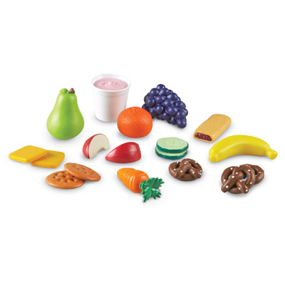 New Sprouts Healthy Snack Set - Set of 18 Pieces - by Learning Resources - LER9744