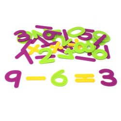 Tactile Numbers & Operations Individual Set - Set of 37 Pieces - by Learning Resources