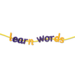 Letters & Sounds: Phases Two & Three Lacing Letters - by Learning Resources