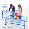 Clear Water Tray - 40cm Blue Stand - CD75096