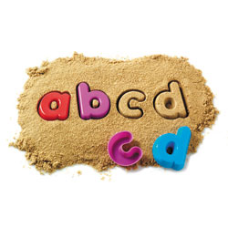 Alphabet Sand Moulds - Lowercase Alphabet - by Learning Resources