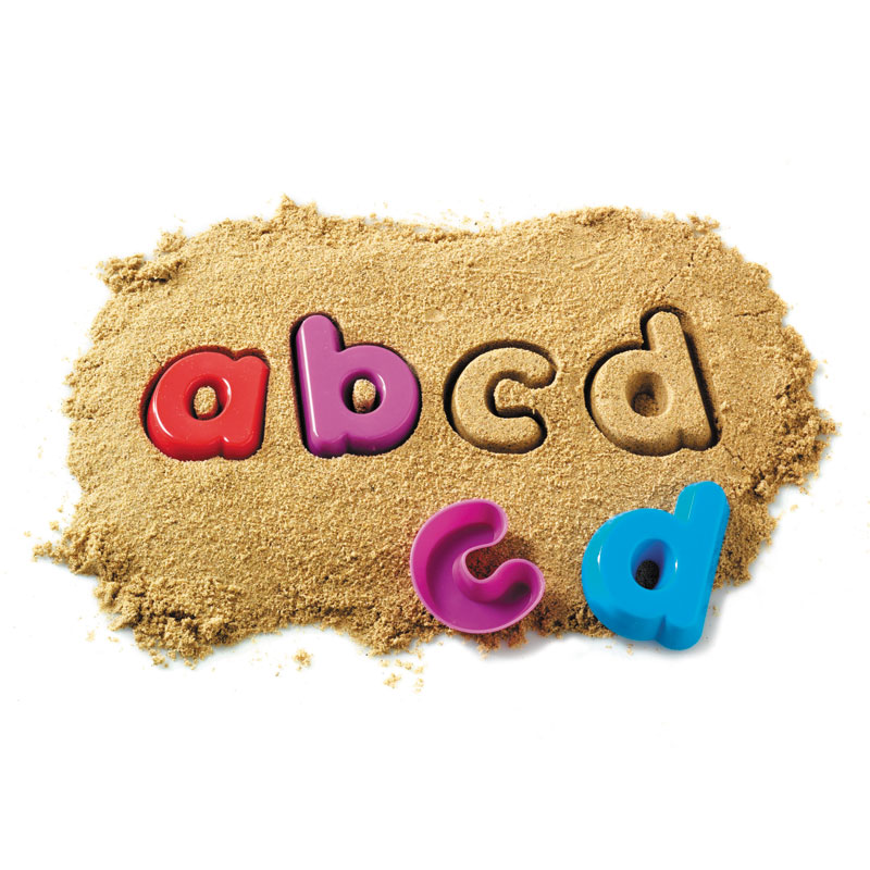 Alphabet Sand Moulds - Lowercase Alphabet - by Learning Resources - LSP1451-UKM