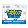 Rainbow Fraction Dominoes - by Learning Resources - LSP2503-UK